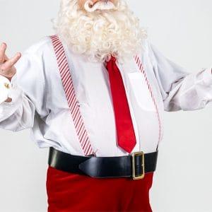 Costume Bretelles Noel