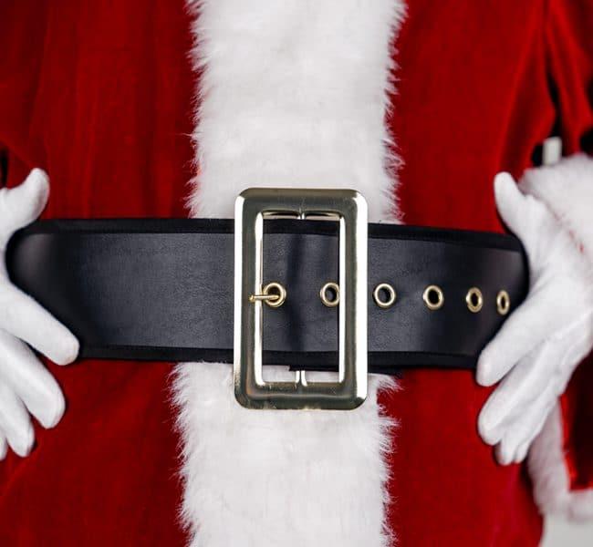 costume ceinture noel