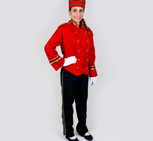Costume soldat noel