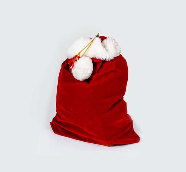accessoire sac noel