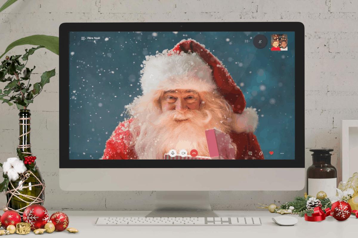 Recevez l'appel du Père Noël! - Père Noël virtuel - APNPQ