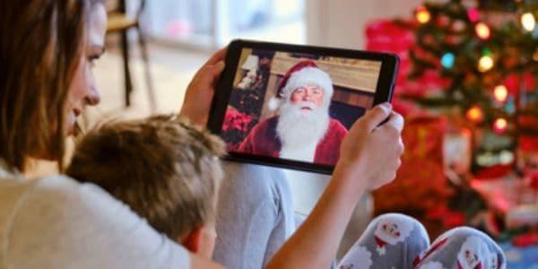 Appel en direct avec le Père Noël | Forfaits corporatifs APNPQ