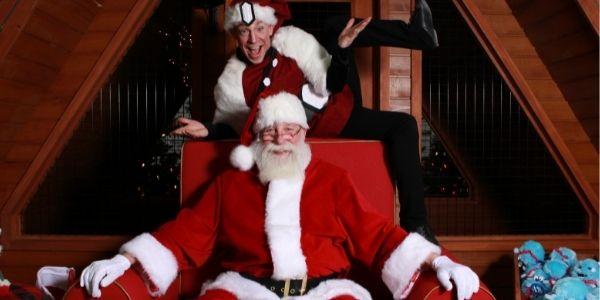 Rencontrez le Père Noël en personne dans un centre commercial