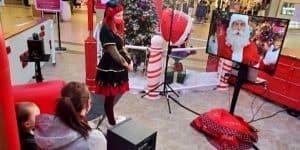 Appel en direct avec le Père Noël en centre commercial | APNPQ