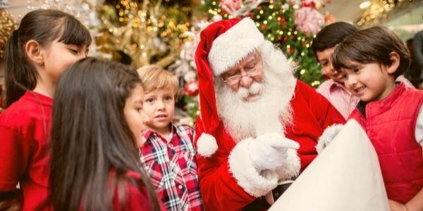 Forfait magique avec le Père Noël, en présentiel, pour les entreprises